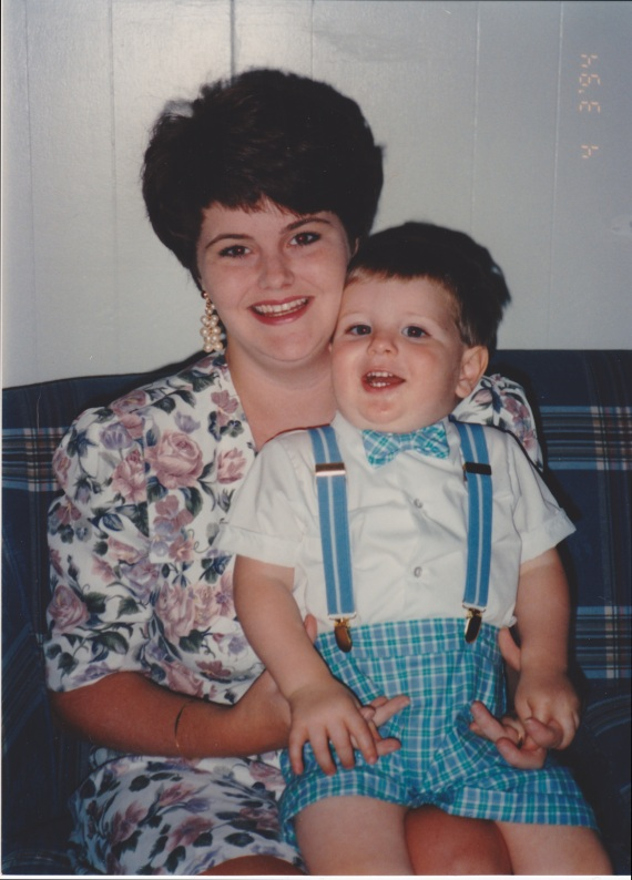 Precious moments together - Easter of 1994.
