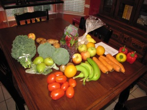 VEGGIES & FRUITS